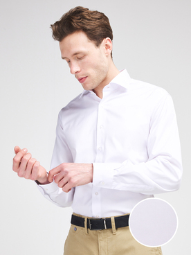 Chemise manches longues ETERNA X18K 8817 Blanc