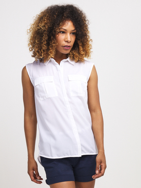 Chemise manches courtes PETROL INDUSTRIES SIS 255 Blanc