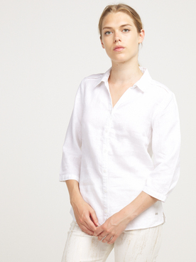 Chemise manches longues OLIVIA K 55OK2CH100 Blanc