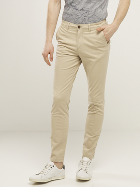 Pantalon JACK AND JONES BOW WHIT L32 Beige