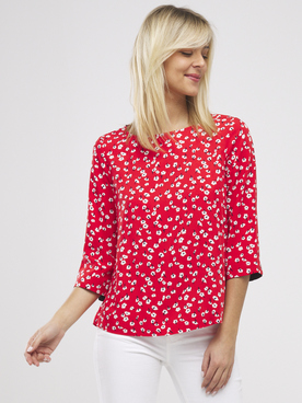 Blouse S OLIVER 1277380 Rouge