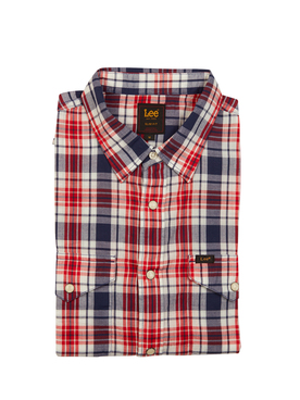 Chemise manches courtes LEE WESTERN LEE2 Rouge