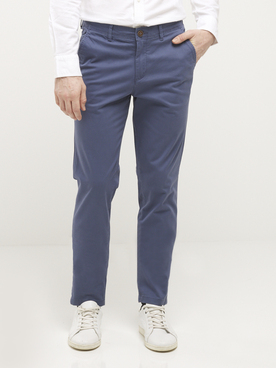 Pantalon JACK AND JONES BOW BLEU L32 Bleu