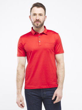 Polo CARDIN 52664T1248 Rouge