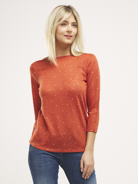 Tee-shirt ONLY 15200159 Brique