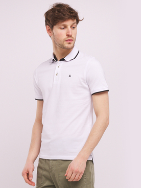 Polo JACK AND JONES PAULOS Blanc