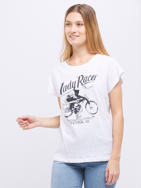 Tee-shirt PETROL INDUSTRIES SLR 373 Blanc