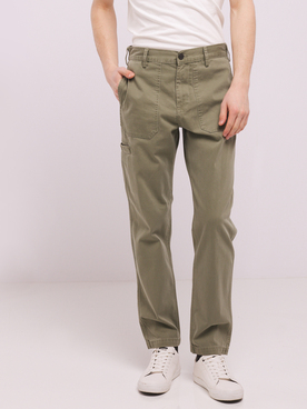 Pantalon LEE CARPENTER Vert kaki