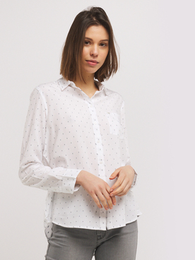 Chemise manches longues LEE ONE P SHIRT Blanc