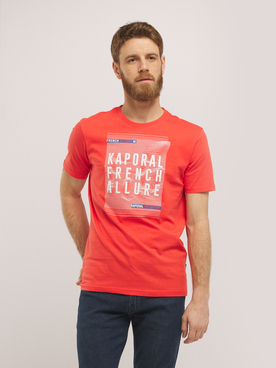 Tee-shirt KAPORAL MAREO Rouge