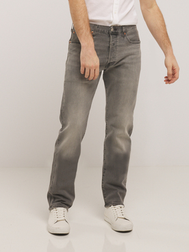 Jean LEVI'S 501 GREY L32 Levis High Water Tnl