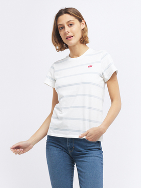 Tee-shirt LEVI'S CHEST STRIPE Ecru