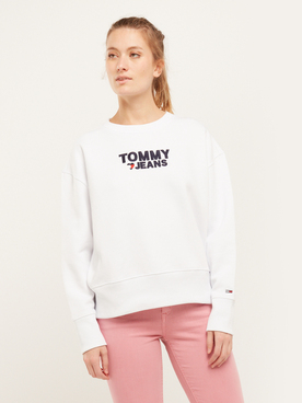 Sweat-shirt TOMMY JEANS CORP SW Blanc