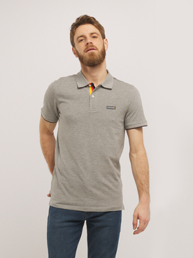 Polo JACK AND JONES CHELSEY Gris