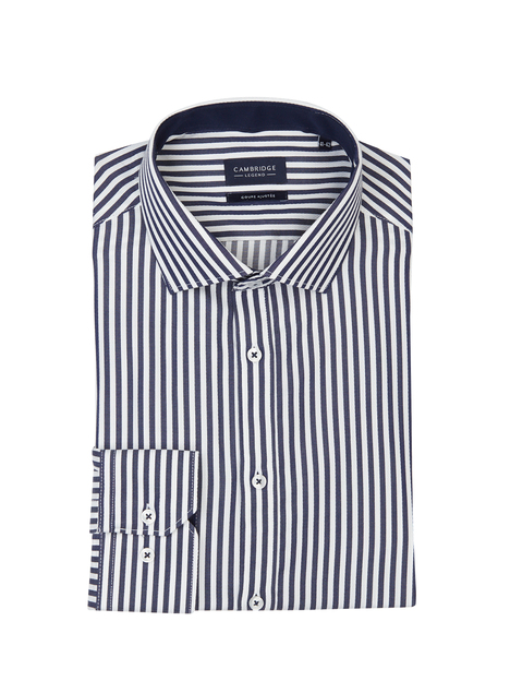 Chemise slim rayure bâton CAMBRIDGE LEGEND
