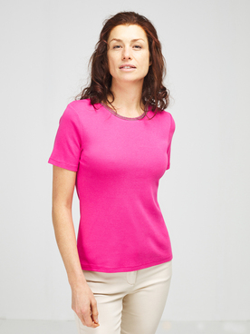 Tee-shirt DIANE LAURY 55DL2TS800 Rose fuchsia