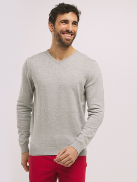 Pull CAMBRIDGE LEGEND 55CG1PU000 Gris clair