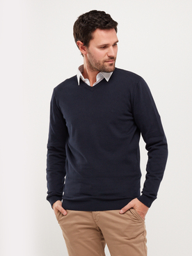 Pull CAMBRIDGE LEGEND 55CG1PU000 Bleu marine