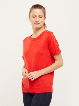 Pull RUE MAZARINE PAMY Orange