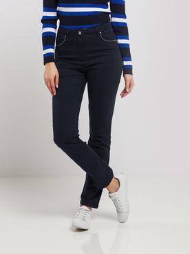 Pantalon DIANE LAURY 55DL2PS800 Bleu marine