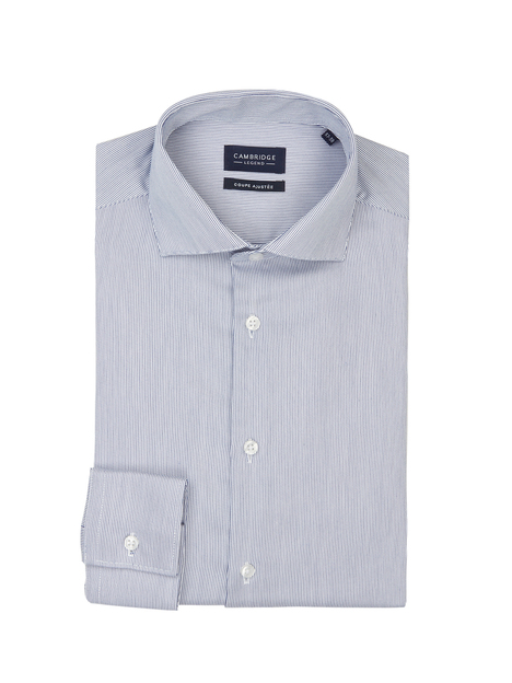 Chemise slim micro rayures CAMBRIDGE LEGEND