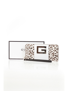 Portefeuille GUESS SWLD66 91460 Ecru