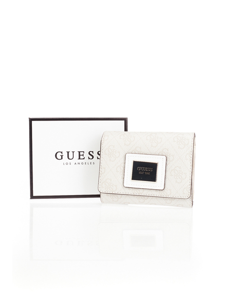 Portefeuille logo monogramme GUESS