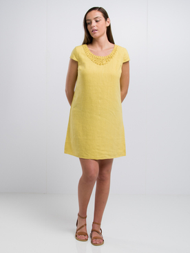 Robe MEXX 75314 Jaune moutarde