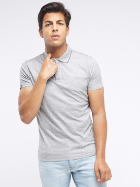 Polo SUPERDRY JERSEY POLO Gris