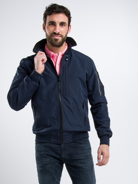 Blouson SUPERDRY MOODY LIGHT Bleu marine