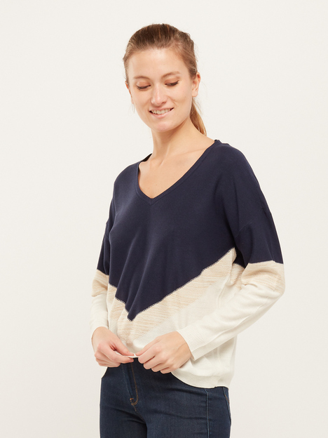 Pull loose détail brillant ONLY