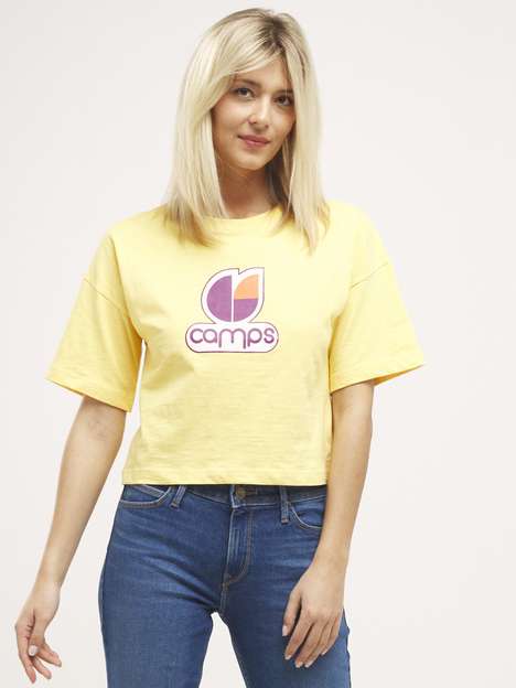 Tee-shirt cropped logo CAMPS UNITED