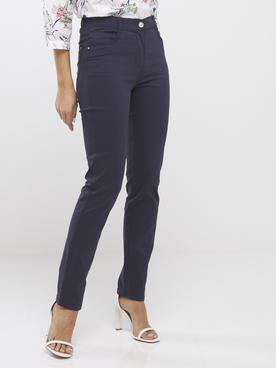 Pantalon DIANE LAURY 55DL2PS801 Bleu marine