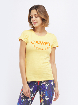 Tee-shirt CAMPS UNITED 55CP2TS300 Jaune