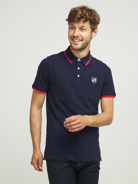 Polo CAMBRIDGE LEGEND 55CG1PO002 Bleu marine