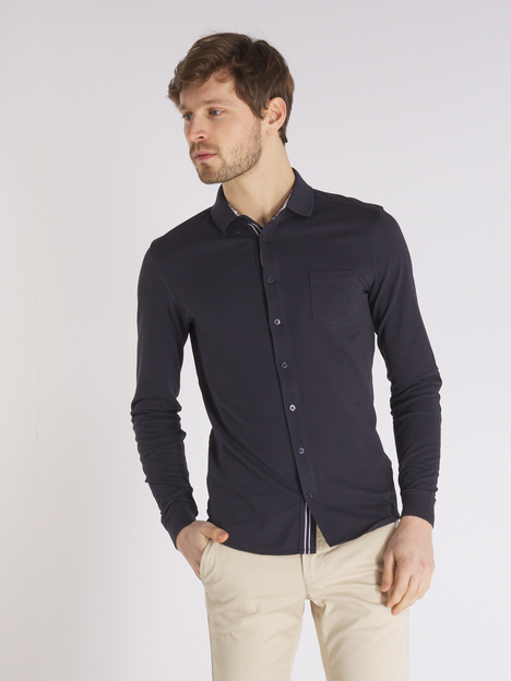 Polo en piqué coupe chemise CAMBRIDGE LEGEND