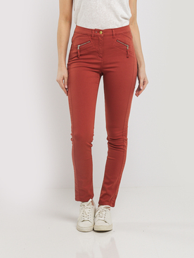 Pantalon JULIE GUERLANDE 55JG2PS000 Brique