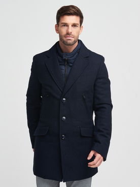 Manteau CAMBRIDGE LEGEND 54CG1MA801 Bleu marine