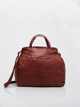 Sac PIECES 17098050 Rouge bordeaux