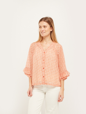 Blouse RUE MAZARINE ELPASO Orange