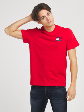 Tee-shirt TOMMY JEANS 06595 Rose vif