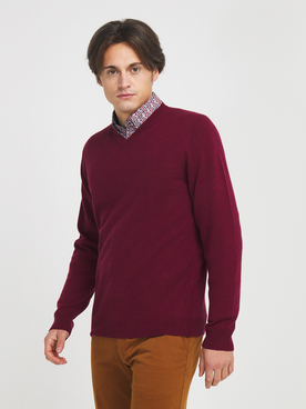 Pull CAMBRIDGE LEGEND 54CG1PU000 Rouge bordeaux