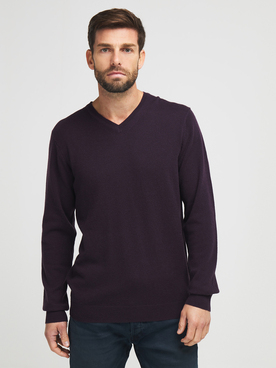 Pull CAMBRIDGE LEGEND 54CG1PU000 Violet prune
