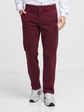 Pantalon CAMBRIDGE LEGEND 54CG1PS000 Rouge bordeaux