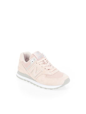Chaussures NEW BALANCE WL574 Rose pale
