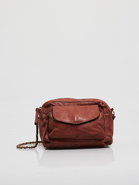 Sac PIECES 17063358 PCNAINA Rouge bordeaux