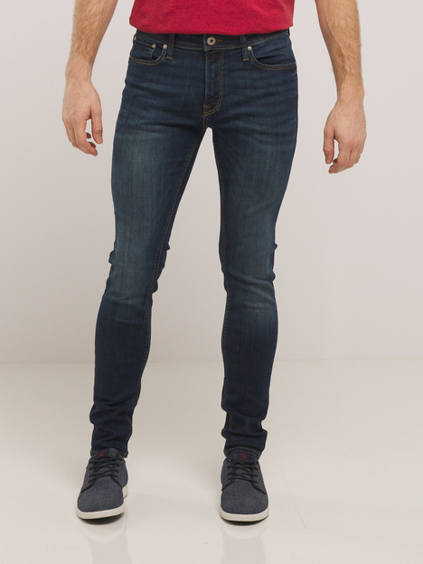 Jean liam brut coupe skinny JACK AND JONES