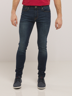 Jean JACK AND JONES 12110056 Bleu foncé