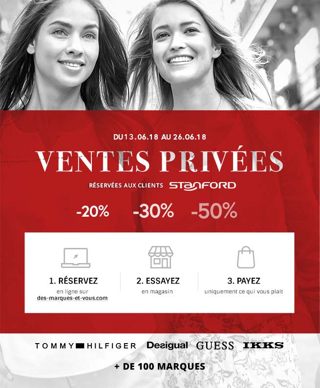 Vente privée Stanford